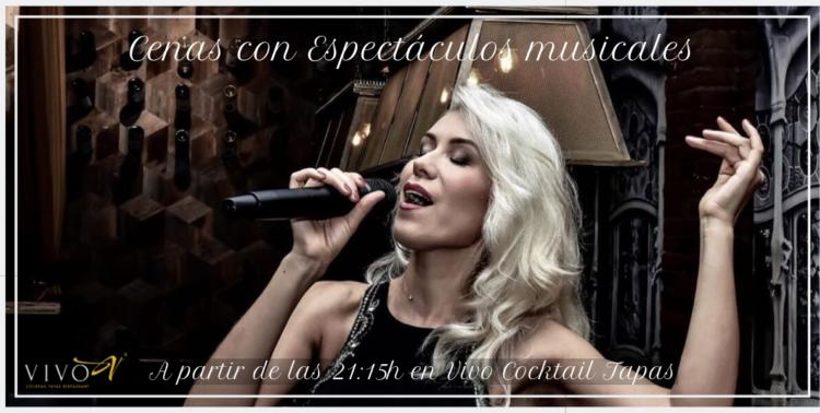 Banner Cenas con Espectáculos musicales
